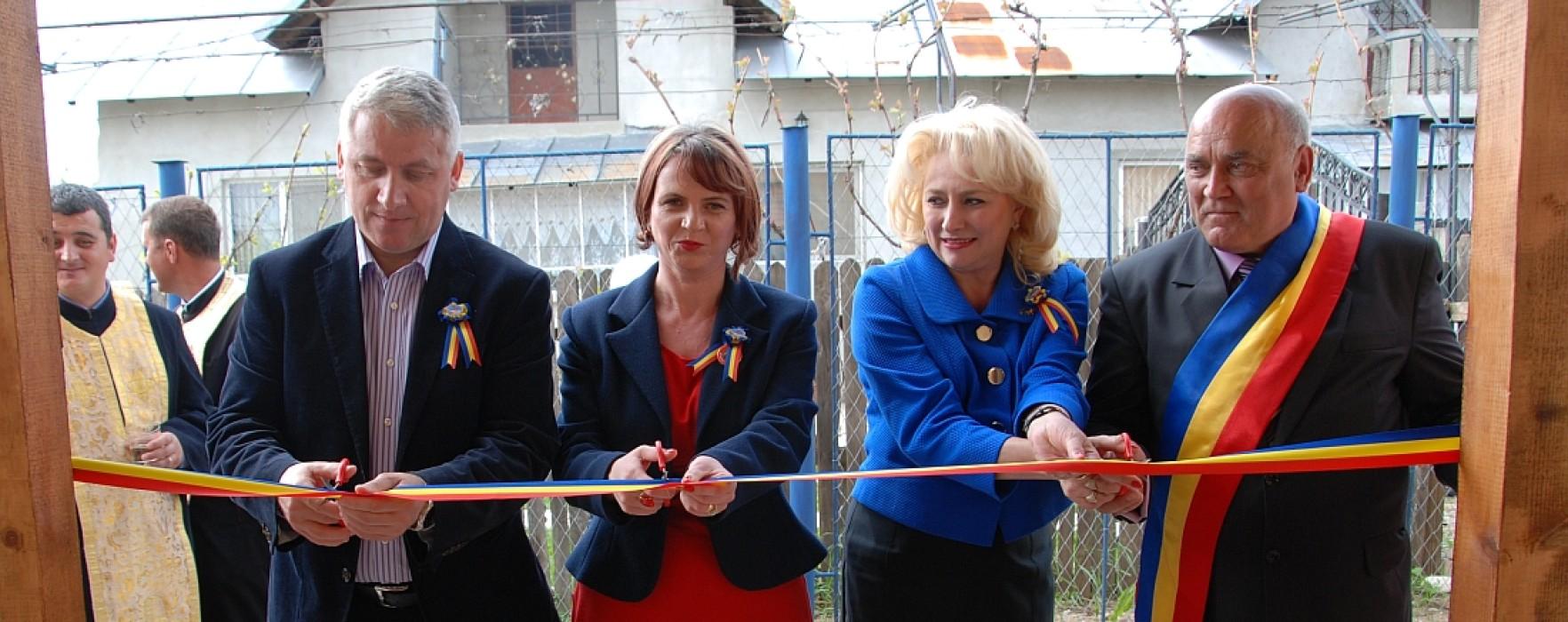 Centru after school, inaugurat la Raciu