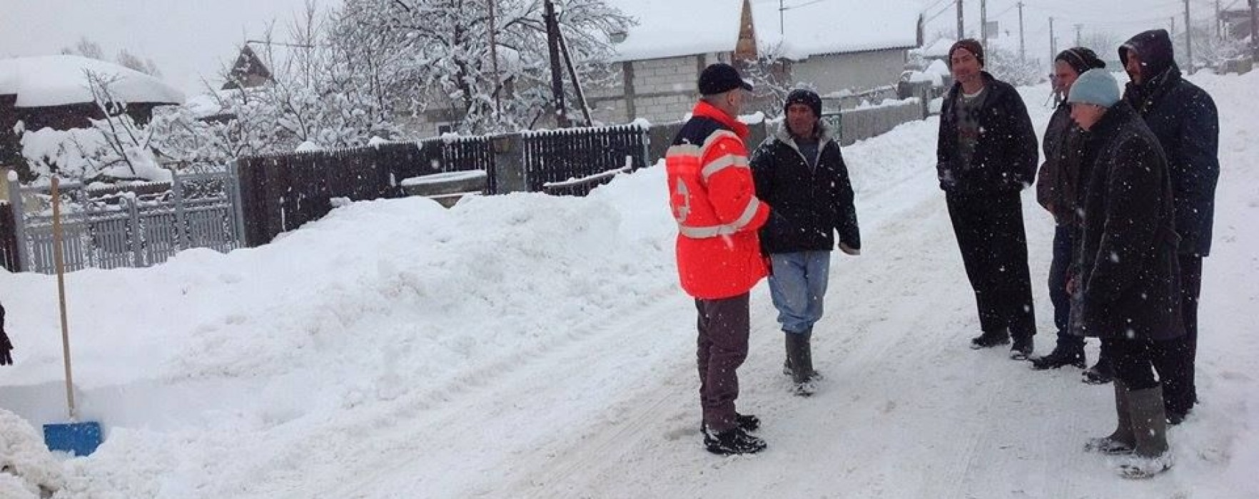 Dâmboviţa: Se circulă în condiţii de iarnă, niciun drum blocat
