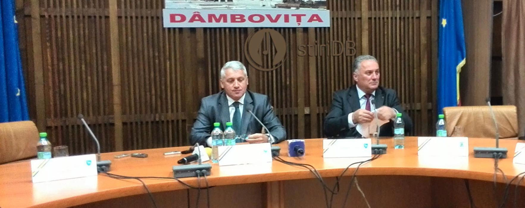 Adrian Ţuţuianu (preşedinte CJ Dâmboviţa): Ioan Marinescu – un prefect foarte bun