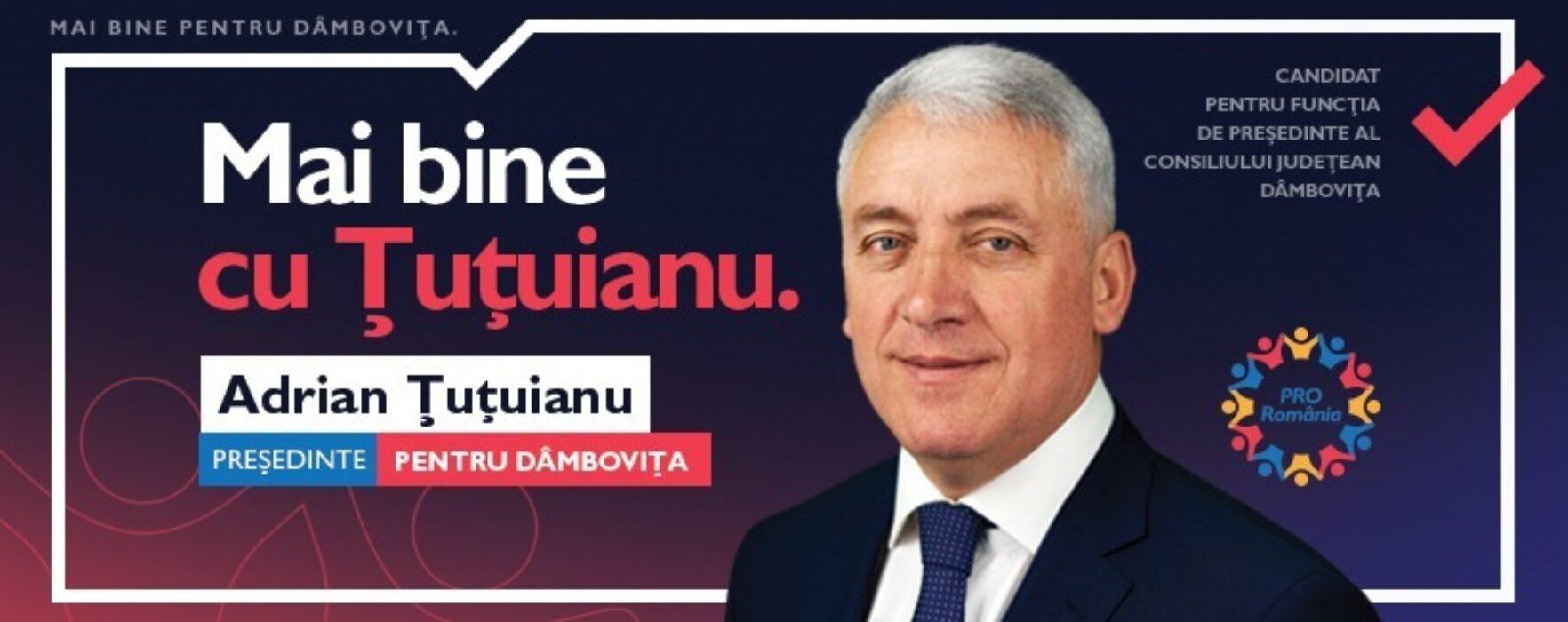 Locale2020 Adrian Ţuţuianu, Pro România: Am discutat cu oamenii din judeţ, am mers pe jos aproape distanţa Bucureşti-Bruxelles