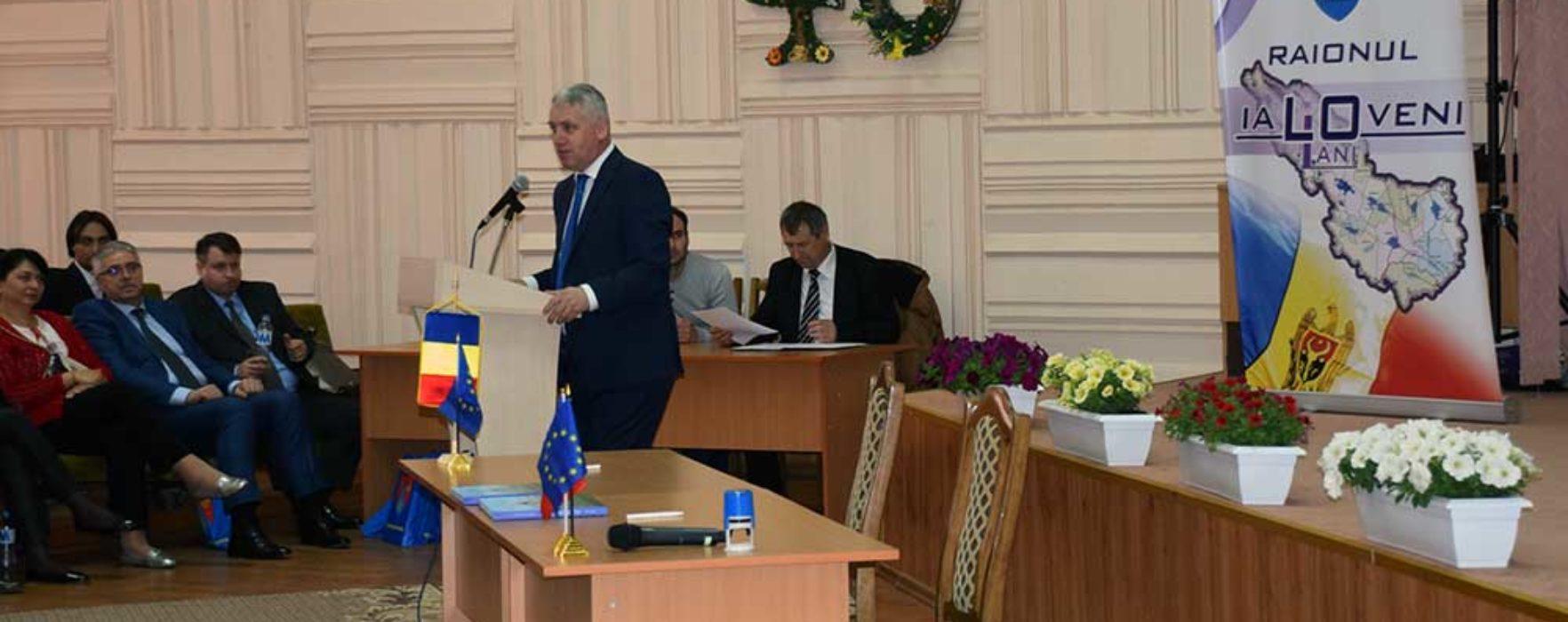 Adrian Ţuţuianu – cetăţean de onoare al Raionului Ialoveni, Republica Moldova