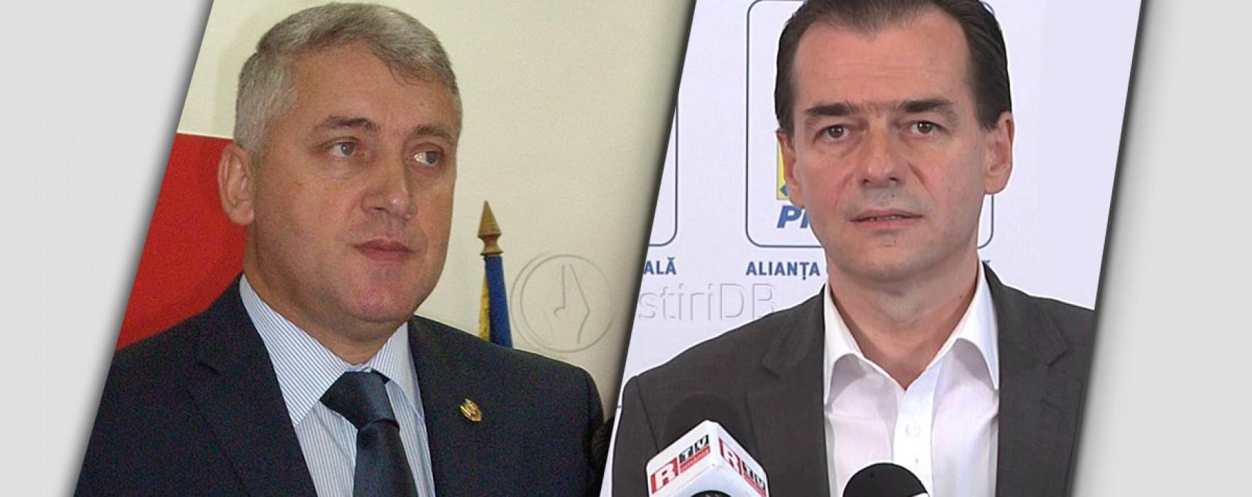 Ţuţuianu: La PNL vor candida Prisăcaru, Popa, foştii PDL, Vladu a preluat organizaţia; Orban îi răspunde