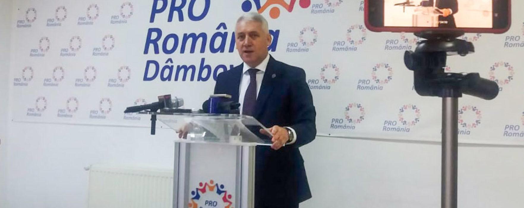 #Covid-19 Adrian Ţuţuianu: Pro România propune măsuri de sprijinire a firmelor