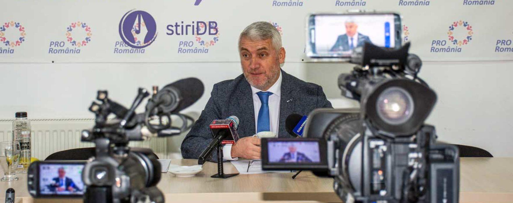 Adrian Țuțuianu și-a anunțat candidatura la Consiliul Județean Dâmbovița