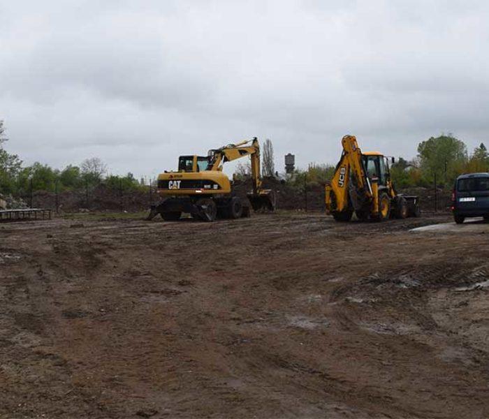 Dâmboviţa: Autorităţile au constatat că nu se lucrează pe şantierul de la UM Gară