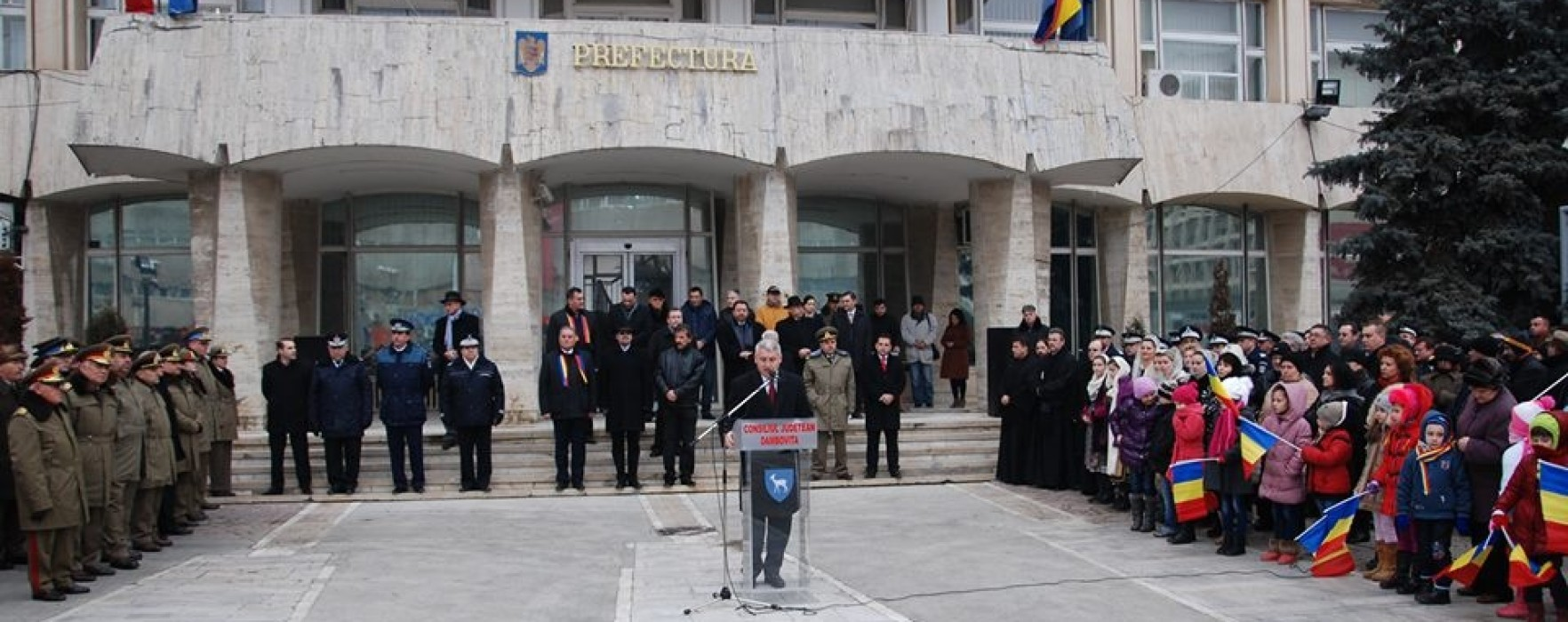 Manifestări de Ziua Unirii, la Târgovişte