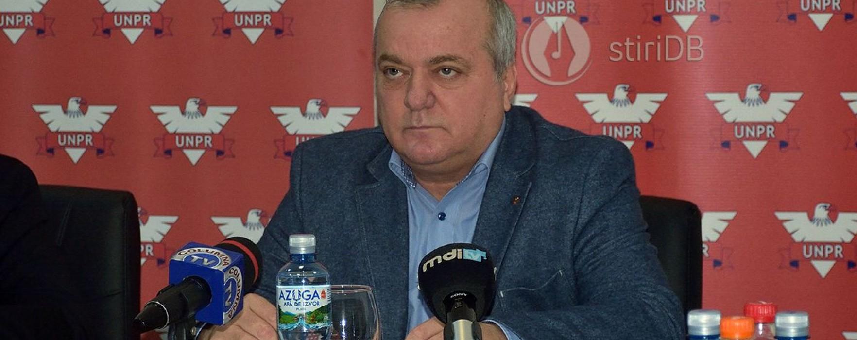 Dumitru Miculescu (UNPR Dâmboviţa): Depun plângere penală, după afirmaţiile făcute de Adrian Ţuţuianu privind mita