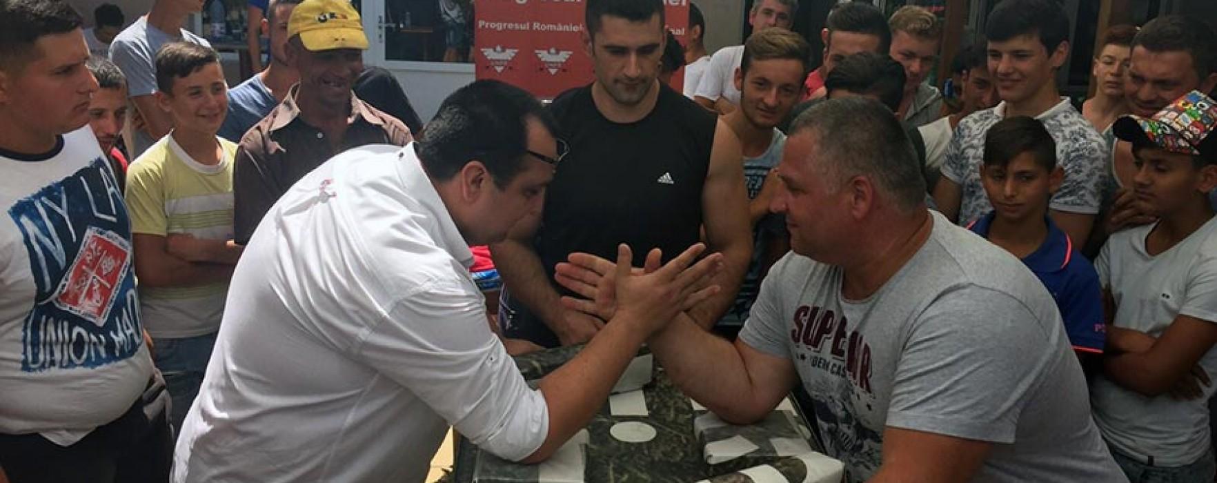 UNPR Dâmboviţa: Concurs de skandenberg la Răcari