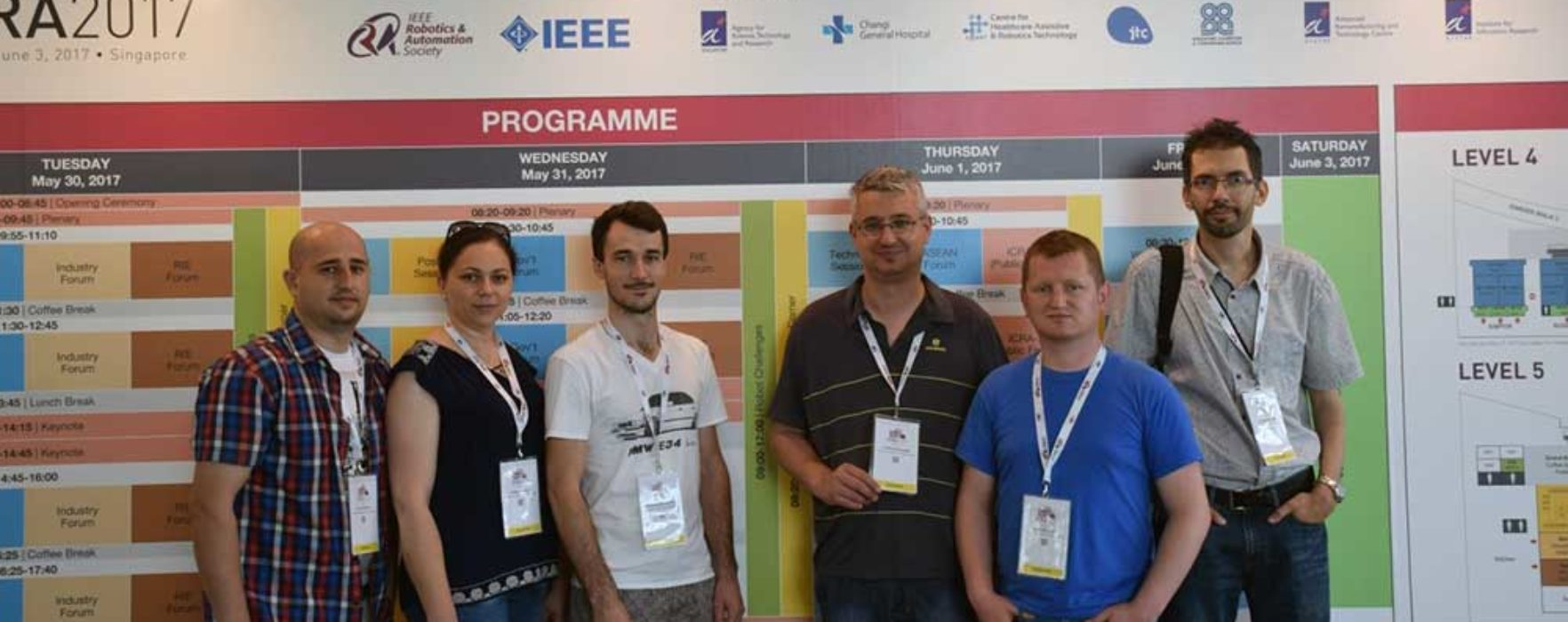 Succes al Universităţii Valahia în finala concursului internaţional de microrobotică de la Singapore