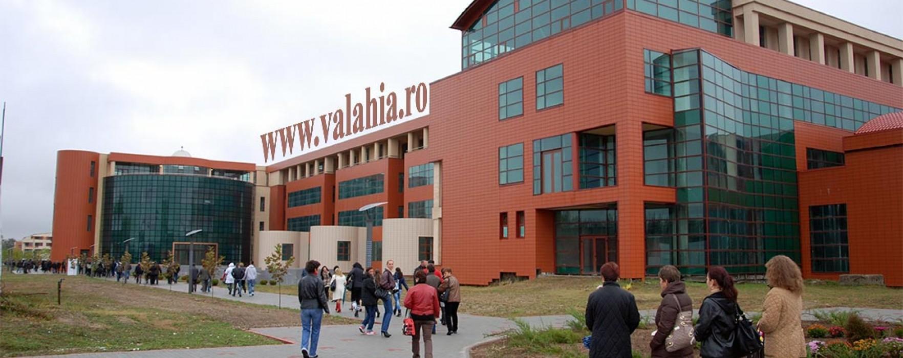 Înscrierile la Universitatea Valahia Târgoviște se pot face și online