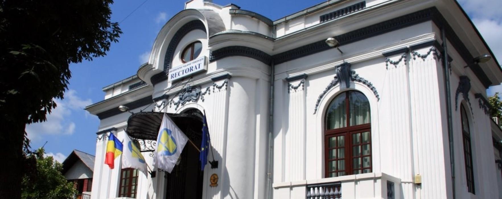 Cursurile Universităţii Valahia Târgovişte, suspendate luni şi marţi