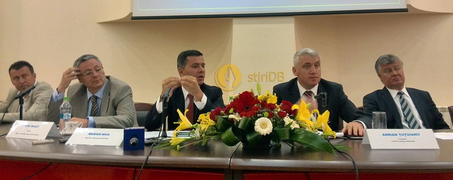Târgovişte: Ministrul Fondurilor Europene, Marius Nica, prezent la o dezbatere pe exerciţiul financiar 2014-2020