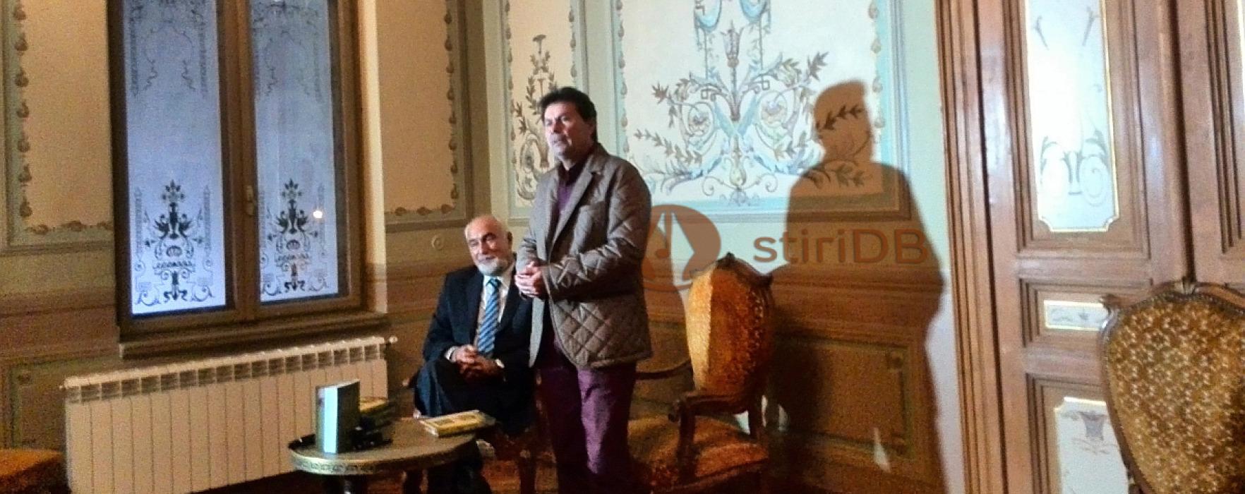 Varujan Vosganian, lansare de carte la Târgovişte