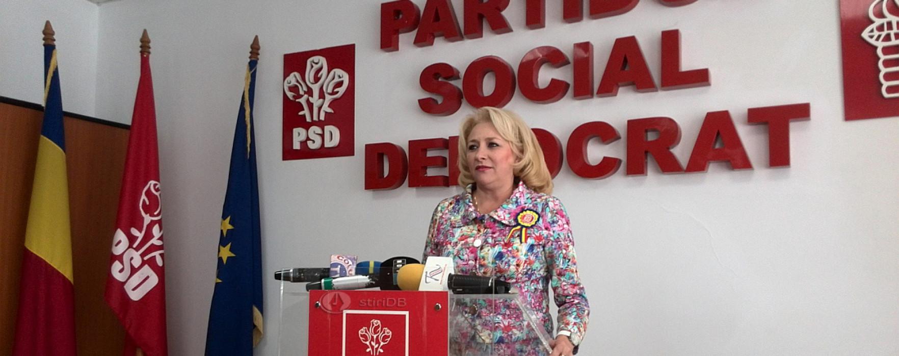 Dăncilă: Alegeri în filiale după prezidenţiale (audio); PSD Dâmboviţa anunţase alegeri pe 6 septembrie