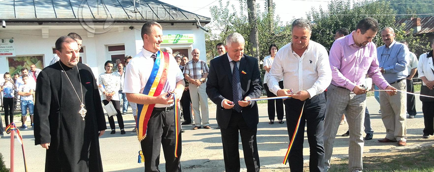 After school şi cămin cultural, inaugurate la Vişineşti