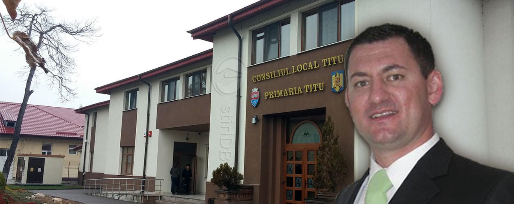Vlad Oprea, candidatul PSD la Primăria Titu