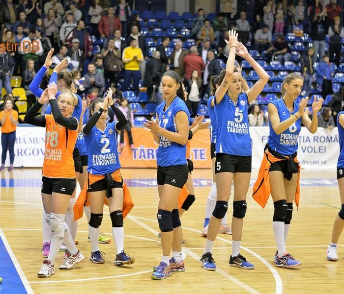 Volei feminin: CSM Târgovişte învinge CSM Bucureşti şi urcă pe locul 2 în Divizia A1