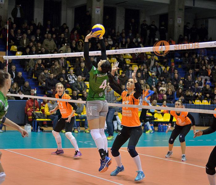 Volei feminin: CSM Târgoviște – Khimik Yuzhny 2-3, în șaisprezecimile Cupei CEV