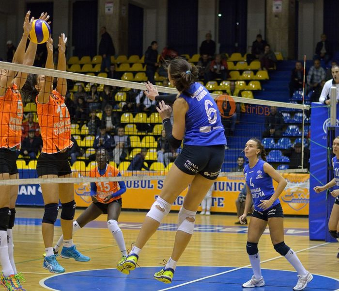 Volei feminin: CSM Târgoviște învinge clar SCMU Craiova, scor 3-0 (foto)