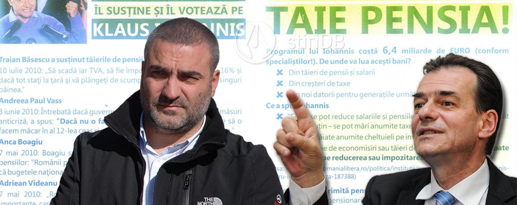 Ludovic Orban: Mihail Volintiru a tipărit pliante anti-Iohannis (audio)