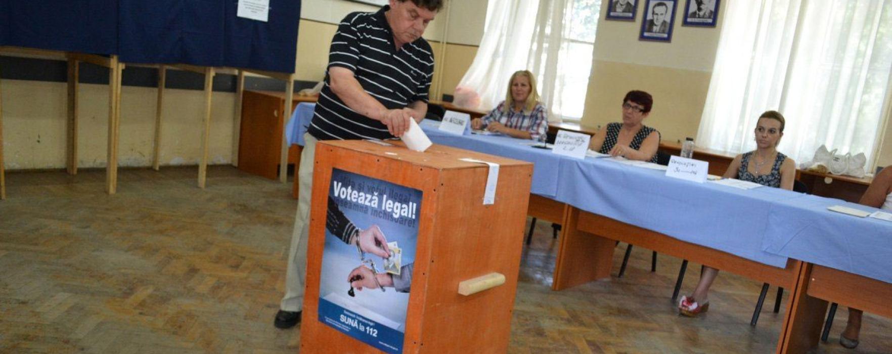 Dâmboviţa: ora 16.00 – Prezenţa la vot 37,36%