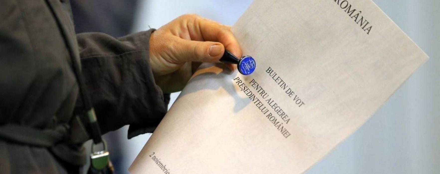 Dâmboviţa: Ponta – 52,54%, Iohannis – 23,78%, rezultat final anunţat de BEJ