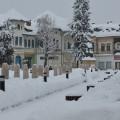 Imagini de iarnă din Târgovişte (foto)