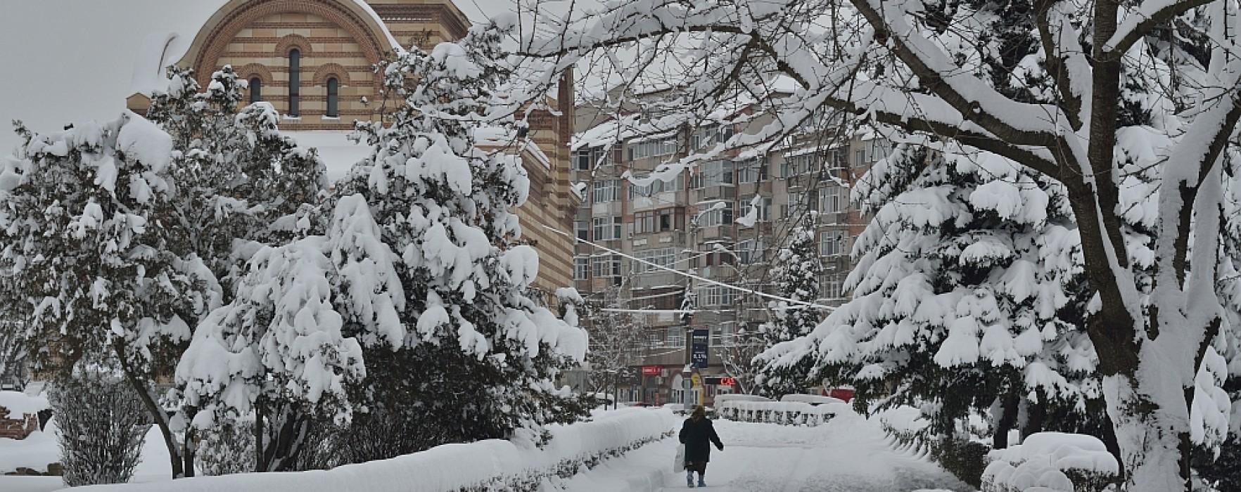 Târgovişte: Temperaturi de până la minus 21 de grade Celsius, în ultimele zile ale anului